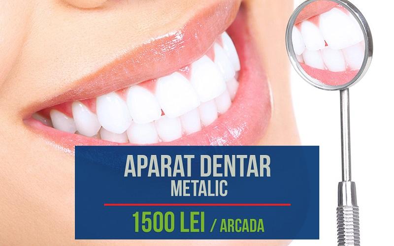 aparat dentar metalic oferta stomasan