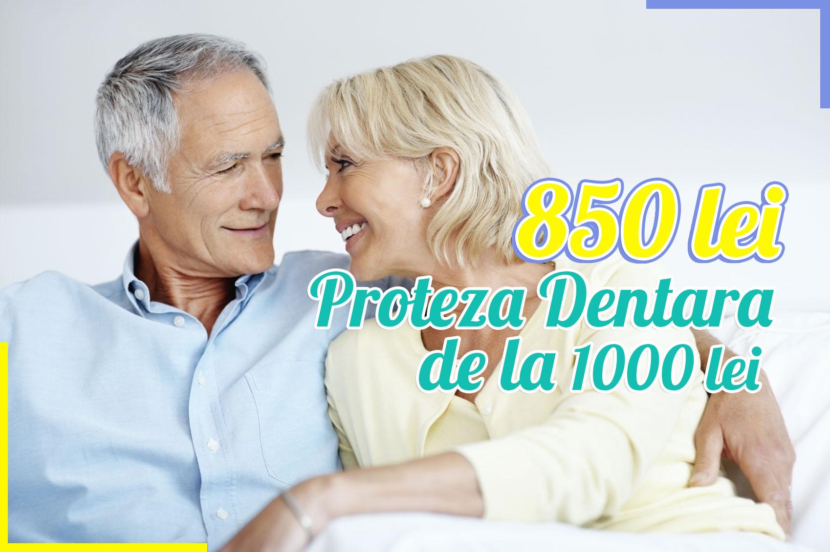 oferta proteza dentara stoma san